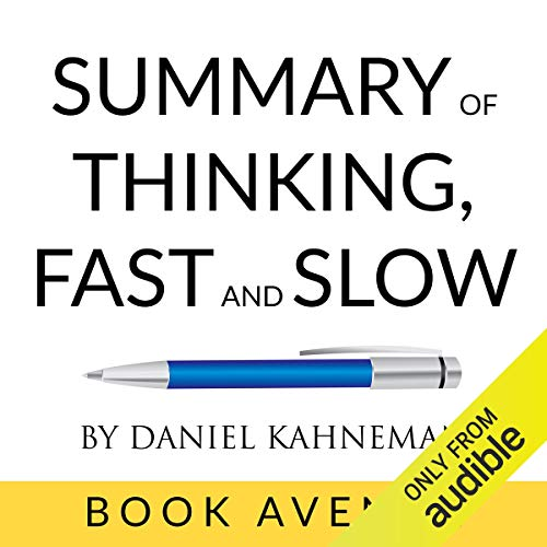 Summary of Thinking, Fast and Slow by Daniel Kahneman Titelbild