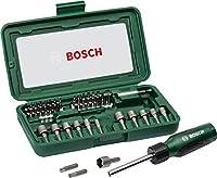BOSCH 2607019504 - Set de bricolaje: 46 uds atornillar y atornillador, colore...