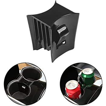 Dengofng Reduce Shake Car Center Console Cup Holder Insert Limiter Partition For Tesla Model 3