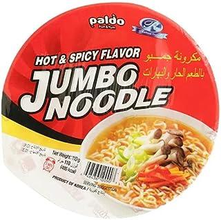 Jumbo King Bowl Noodle - Hot & Spicy Flavor- 110g-[Paldo- 110gm]