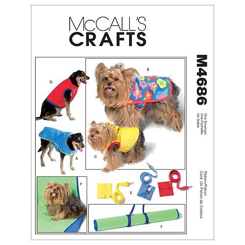 McCall's Patterns M4686 Pet Gift Items, All Sizes by McCall's Patterns