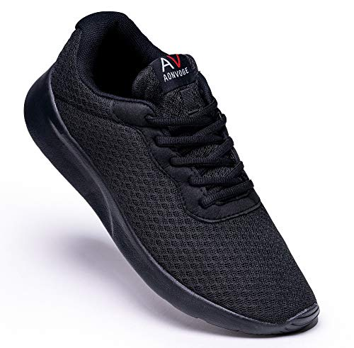 AONEG Mens Running Walking Trainers Sneaker Athletic Gym Fitness Sport Shoes Lightweight Casual Working...