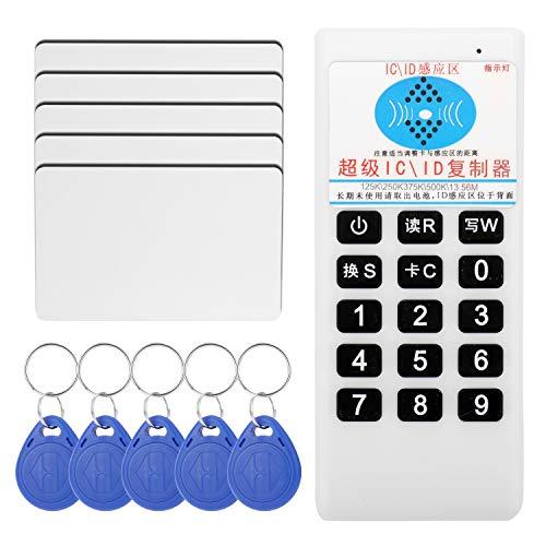 KKmoon Replikator Smart Card ID/IC CD-speler Duplikator van Papier-Cloner RFI-D draagbaar 125KHz 13,56MHz IC-kaart Inductie 05CD 5 Card 5 Fibbia