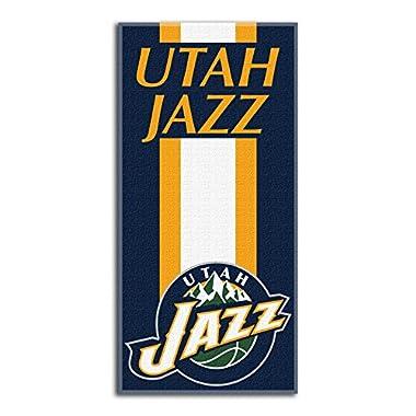 Northwest NBA Utah Jazz Beach Towel, 30 X 60 Inches