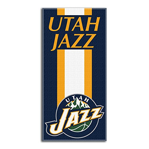 Utah Jazz NBA Royal Plush Raschel Blanket (800 Series) (60x80 )