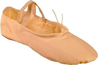 Canvas Ballet Slipper for Women Girls, Split Sole Ballet Shoes