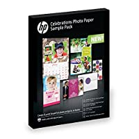 HPフォト用紙サンプルパック–Assortment 5x 7、8.5X 11、封筒