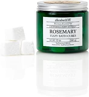 elizabethW Rosemary Fizzy Bath Cubes