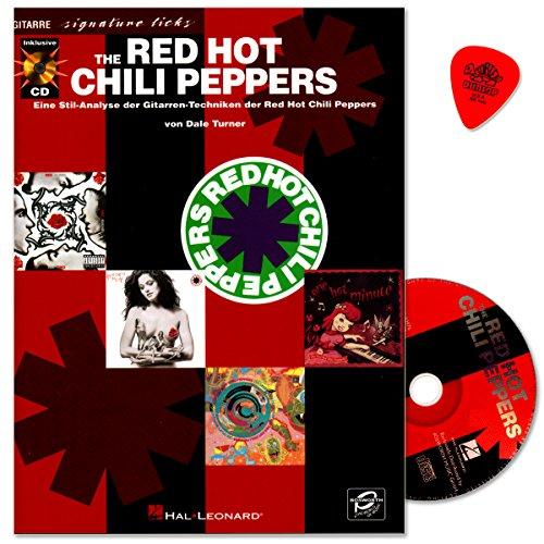 The Red Hot Chili Peppers - eine Stil-Analyse der Gitarren-Techniken - Gitarrenschule von Dale Turner mit CD und Dunlop Plek