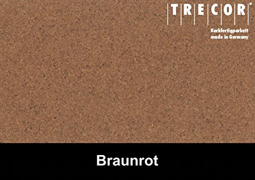 Trecor Kork Exclusiv Sockelleisten 60 x 16 x 2500 mm - Wählen Sie aus Opal, Creme & Weiss (Opal)
