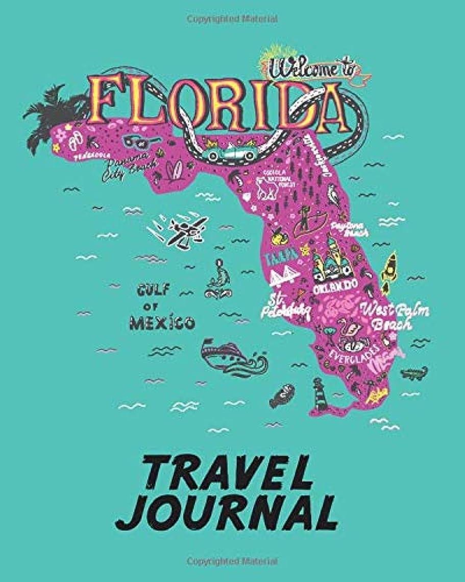 マインドフル区別する割合Travel Journal: Kid's Travel Journal. Map Of Florida. Simple, Fun Holiday Activity Diary And Scrapbook To Write, Draw And Stick-In. (Florida Map, Vacation Notebook, USA Adventure Log)