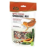 Zilla Reptile Food Munchies Omnivore Mix, 4-Ounce