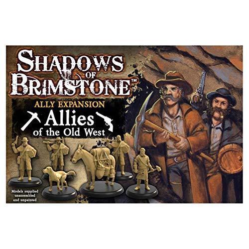Fantasy Flight Games FFP07A01 Old West Ally Erweiterung: Shadows of Brimstone, Mehrfarbig