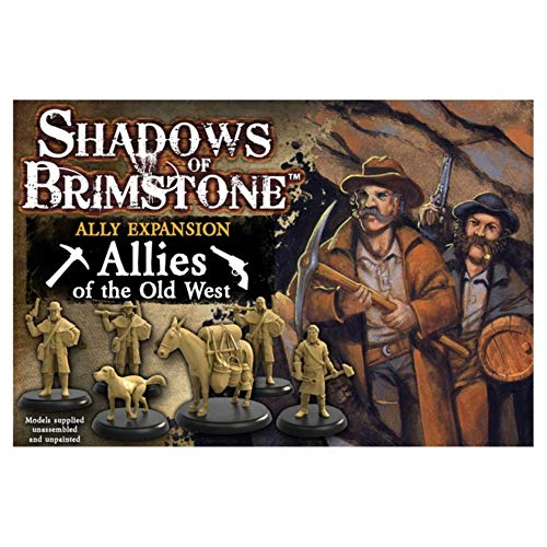 Fantasy Flight Games FFP07A01 Old West Ally Erweiterung: Shadows of Brimstone, Mehrfarbig