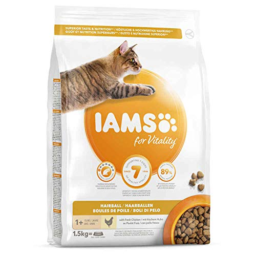 Iams Adult Cat Hairball - 1,5 kg