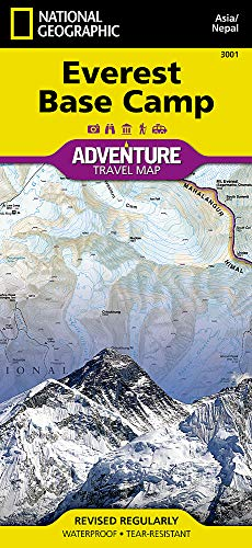 Everest Base Camp [Nepal] (National Geographic Adventure Map (3001))