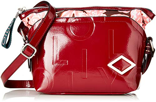 Oilily Damen Brightly Shoulderbag Mvz Schultertasche Rot (Burgundy)