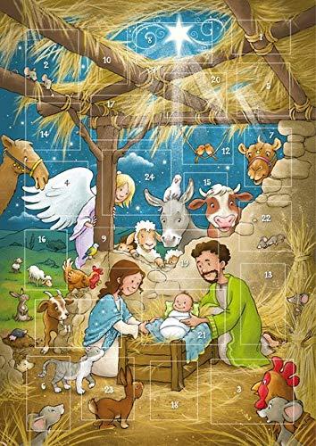 Der magnetische Adventskalender - Weihnachtsfreude in Betlehem (Weihnachten für Kinder)