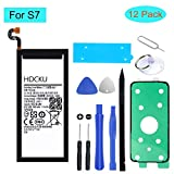 HDCKU Battery Replacement Kit for Samsung Galaxy S7 SM-G930 (EB-BG930ABE) with Full Repair Tools and Instructions
