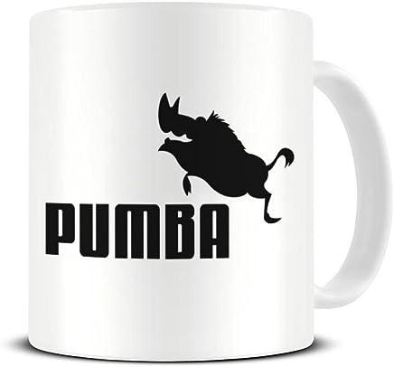 Preisvergleich für Funky NE Ltd Kaffeetasse aus Keramik mit Pumba Logo – Der König der Löwen – tolle Geschenkidee