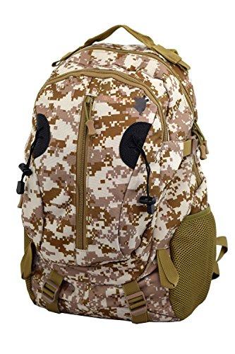 Land Turtle - Military Edition - Militär Rucksack Moro Tarnung Daypack Wandern Reise Schule Uni Stadt