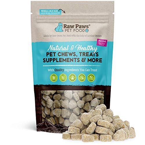 Raw Paws Prebiotics and Probiotic for Dogs Soft Chew, 10-oz/100-ct - USA Made Dog Yeast Infection Treatment, Relieves Dog Diarrhea, Puppy Probotics for Small Dogs & Large Dogs, Dog Probiotics Chewable