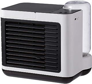 YLCJ Móvil Climatizador Evaporativo Ventilador Purificador,Mini Enfriador De Aire,Enfriador De Aire con Función De Humidificación,3 Velocidades,Hogar,Oficina Aire Acondicionado Blanco