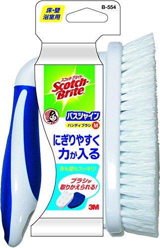 スリーエム(3M) お風呂掃除 ブラシ ハンディM スコッチブライト バスシャイン B-554
