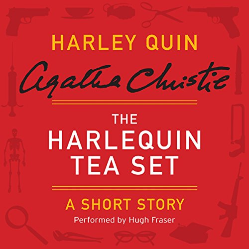 The Harlequin Tea Set audiobook cover art