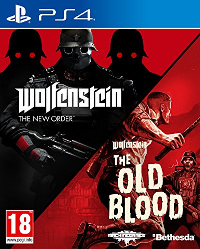 Wolfenstein The New Order and The Old Blood Double Pack - PlayStation 4 [Importación inglesa]