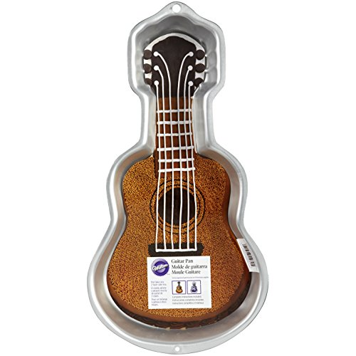 Wilton Backform für Gitarrenkuchen, 42 x 21,6 x 5 cm