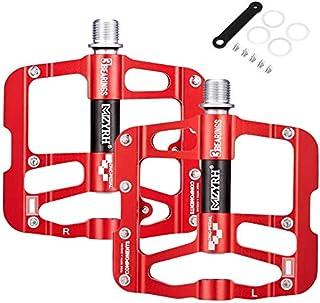 comprar comparacion Pedales de bicicleta de ciclo MTB 3 rodamientos Bicicleta de montaña CNC de aleación de aluminio ultraligero Ultra eje ten...