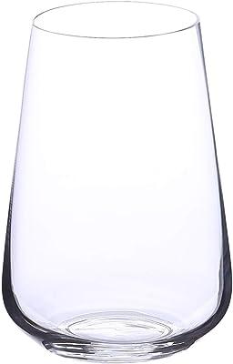 Fade 51540 Penso Tosca - Jarrón de cristal transparente (30 cm)