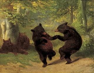 Dancing Bears by William H. Beard Fine Art Print Poster 11x14
