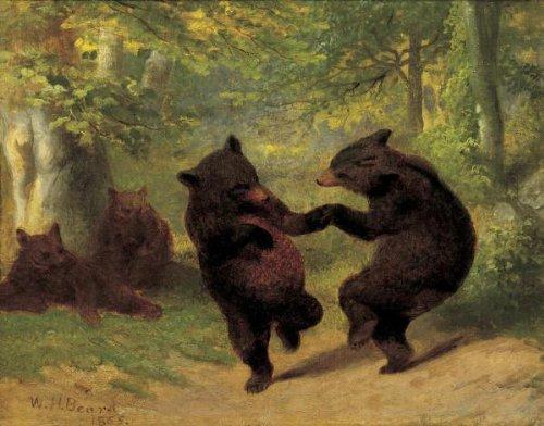 dancing bears painting - 8
