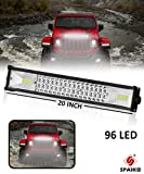 Spaiko Car LED Focus Beam Light and Flood Light Off-Roading for All Cars