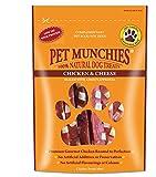 Pet Munchies Chicken & Cheese Dog Treats 8x100gm