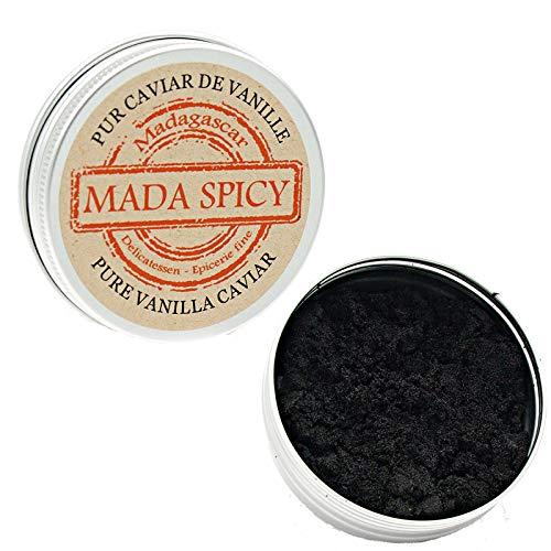 Caviale pura vaniglia del Madagascar 25g «scatola richiudibile»