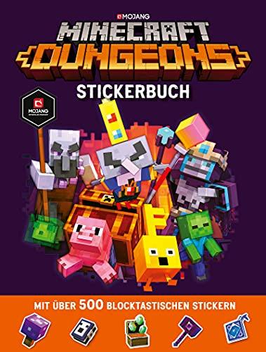 Minecraft Dungeons Stickerbuch: Ein offizielles Minecraft-Stickerbuch