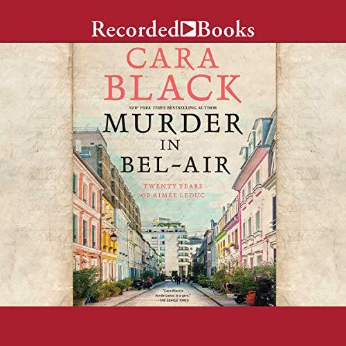 Murder in Bel-Air audiobook cover art