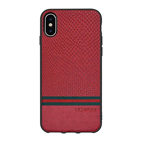 Adecuado para Apple iphoneXS magnético teléfono móvil caso 12 cubierta protectora coche personalización-rojo_IPhone7/8 PLUS