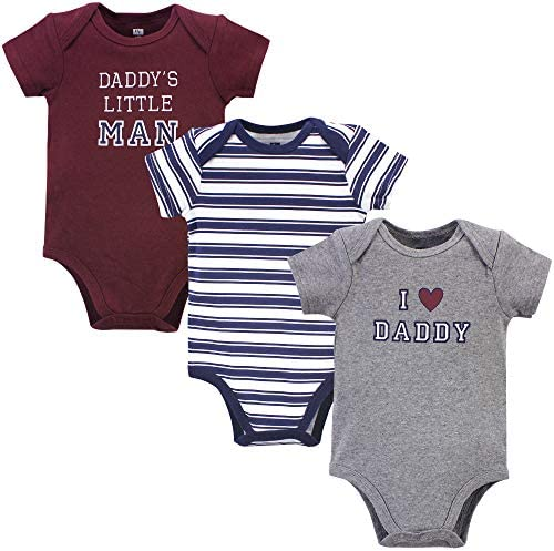 Hudson Baby Unisex Cotton Bodysuits Boy Daddy 3 6 Months product image