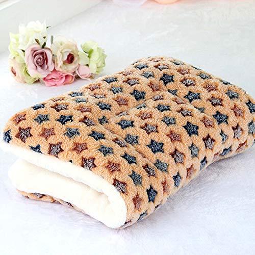lanchengjieneng Fleece Hundedecke Katzendecke Super Softe Warme und Weiche Hundematte für Haustier Hund und Katze