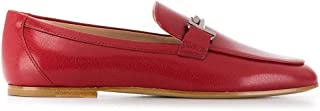 Tod's Luxury Fashion Womens XXW79A0Z370TRPR609 Red Loafers | Fall Winter 19