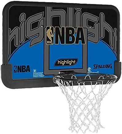 Spalding NBA HIGHLIGHT BACKBOARD (80-453CN) - schwarz blau B00814MNPM       Sale Online Shop  99fd29