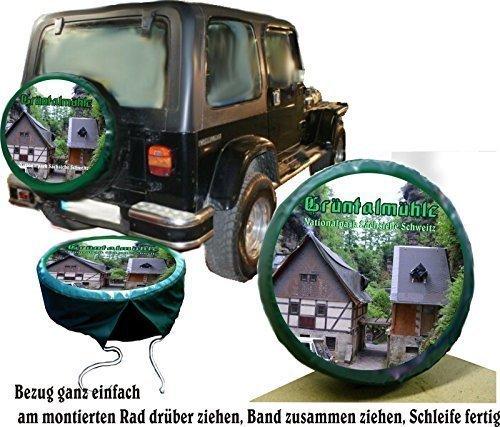 DSF Bezug Reserverad Abdeckung mit ihrem Wuschmotiv & Text für Ihren Suzuki