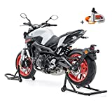 Set Caballete Moto Trasero/Delantero + candado Moto con Alarma SM18