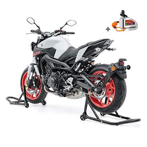 Set Montageständer Motorrad vorne/hinten + Bremsscheibenschloss SM18