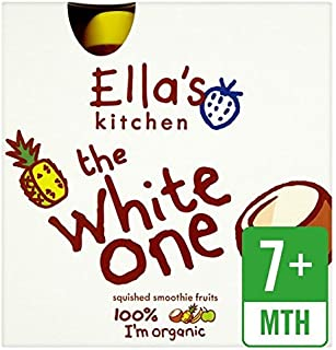 Ella's Kitchen Organic The White One 4 X 90G