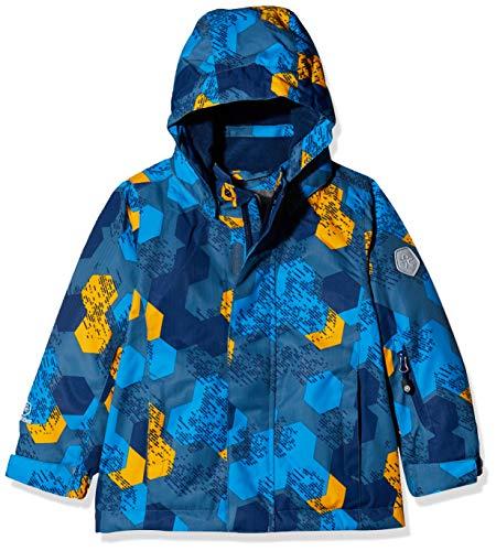 Color Kids Jungen Padded Skijacke/Winterjacke Jacke, Blau (Stellar 1135), (Herstellergröße: 122)